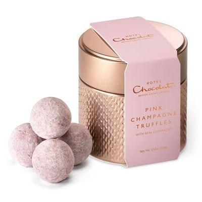 Hotel Chocolat Pink Champagne Truffle Tin