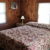 One Queen bed cabin per night