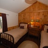 Two Twin Beds, Shared Bath, Lake Side of Inn Standard