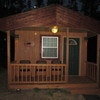 Little Bear Camping Cabin, Avg. Nightly Rate $72...Total Reservation =
