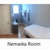 Nemaska – Single Bed + Desk - 2nd Floor