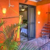 Premium  Poolside w/kitchen & patio and 1 Queen and 1 Single bed - La Sombra