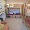 4-bedded mixed dorm room
