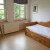 Einzelzimmer mit Gartenblick