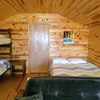 Adjoining Family Cabin 18 (Individual pricing but Cabin 18 connects with Cabin 17) No Baths