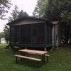 Single Bedroom cabin W/Queen bed & screen porch