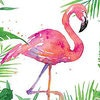 Pink Flamingo Standard