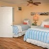 Starfish Room Queen and Twin down the steps and 8 steps and your on the beach