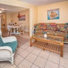 Orchid Cottage King bed, spacious and comfy with that Key West flair.
