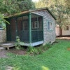 Two bedroom cabin with living room & screen porch