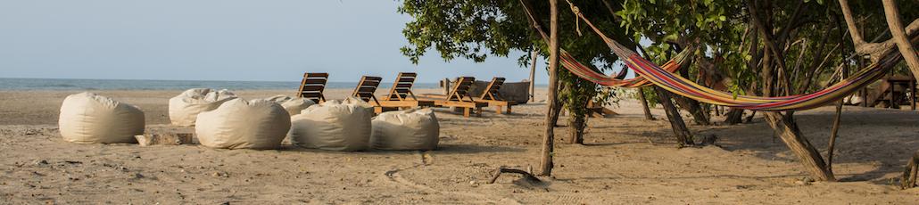Playa hamacas