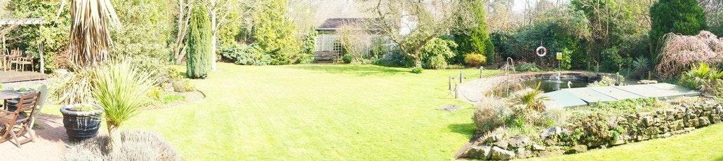 Panoramic garden edit