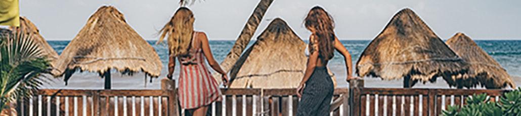 Ragazze spiaggia laqrga